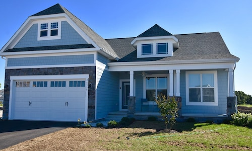 New 5 Bedroom Bethany Beach House at Millville by the Sea 5BR 3 BA Sleeps 10