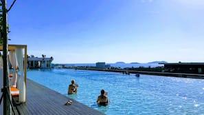 야외 수영장, 09:00 ~ 22:00 오픈, 무료 카바나