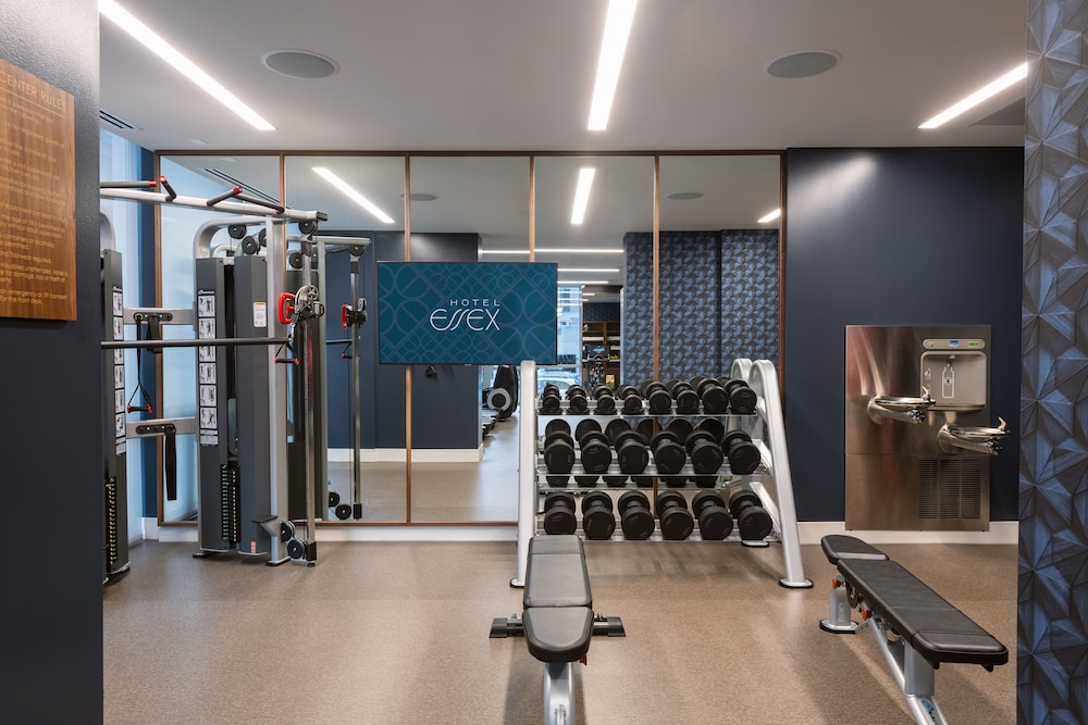 Fitness Facility, Hotel Essex Chicago