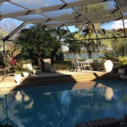 Lakeview 3 BR Villa With Large Private Pool Nestled Into Florida's Nature
