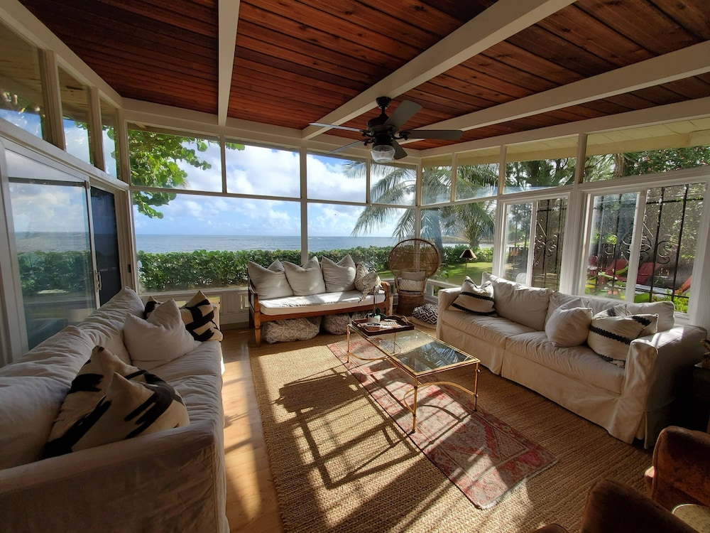 Featured Image, Waialua Honu Hale - Spectacular Beachfront Home! 30 Day Rental