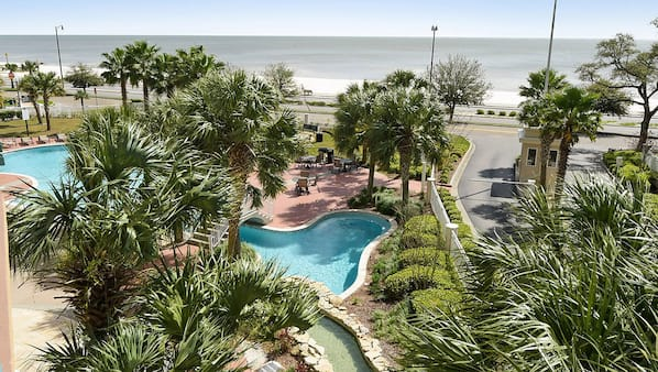 Gorgeous Beach View Lower Fees Legacy Towers Beautiful 3 Bedroom 3