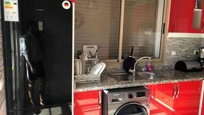 Micro-ondes, grille-pain, distributeur de glaçons