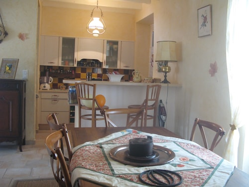 In the Heart of Bugey, on Albarine, Well-equipped House, Ideal for Families
