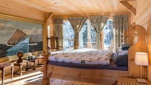 Individuell inredning, unika möbler och sängkläder