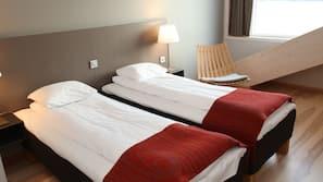 Sengetøy av topp kvalitet, blendingsgardiner, gratis wi-fi og sengetøy