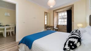 2 bedrooms, in-room safe, blackout drapes, iron/ironing board