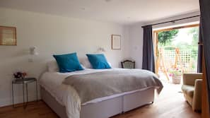 Premium bedding, down duvets, pillow-top beds, iron/ironing board