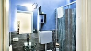 Combinazione doccia/vasca, vasca da bagno a immersione totale