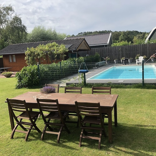 Holiday House With Swimming Pool Between Bergen and Schoorl. Near the Beach and Dunes