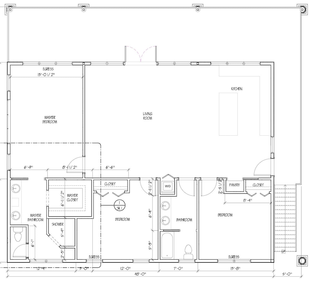 Floor plan, Brand New!!! Crystal Lake Condo - Sleeps 8!