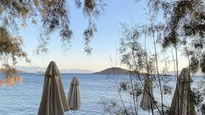 Private beach nearby, free beach shuttle, beach bar