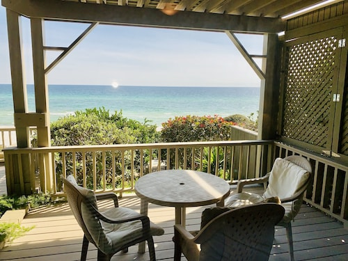 Gulf Front Home With the Best Views on 30a! 4br/3ba 87' of Private Beach!