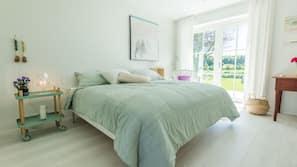 Hochwertige Bettwaren, Pillowtop-Betten, kostenloses WLAN, Bettwäsche