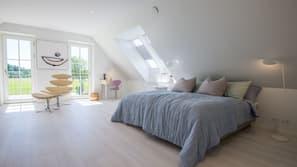 Premium bedding, pillowtop beds, free WiFi, linens