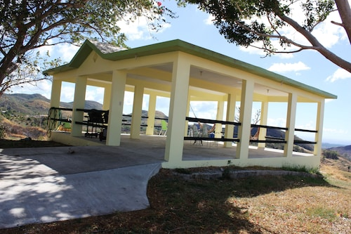 Carribean Vista House, on 5.5 Acres, Mountains View, Sunsets , Huge Gazebo,