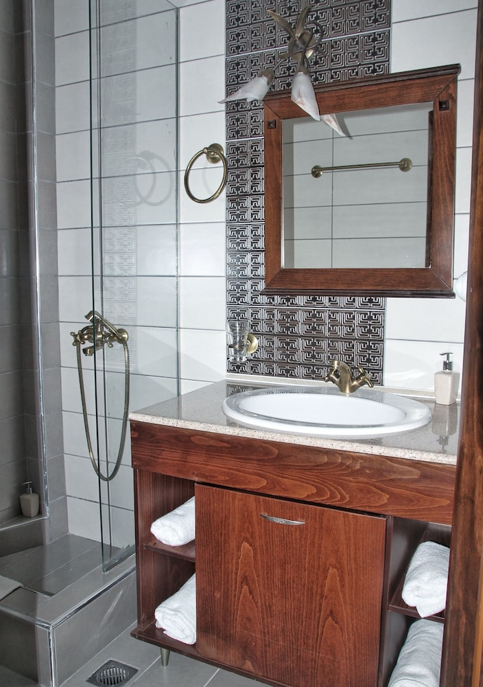 Bathroom, Paralia Beach Boutique Hotel