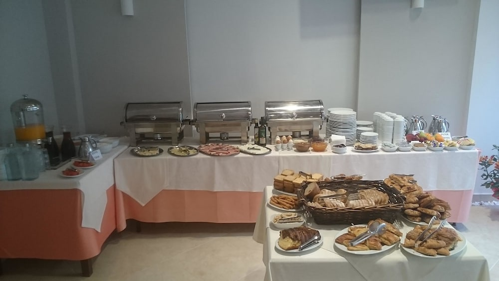 Breakfast buffet, Paralia Beach Boutique Hotel