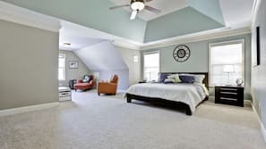 5 bedrooms, in-room safe, iron/ironing board, cribs/infant beds