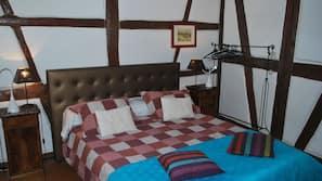 1 chambre, fer et planche à repasser, accès Internet, draps fournis