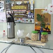 Serviço de café