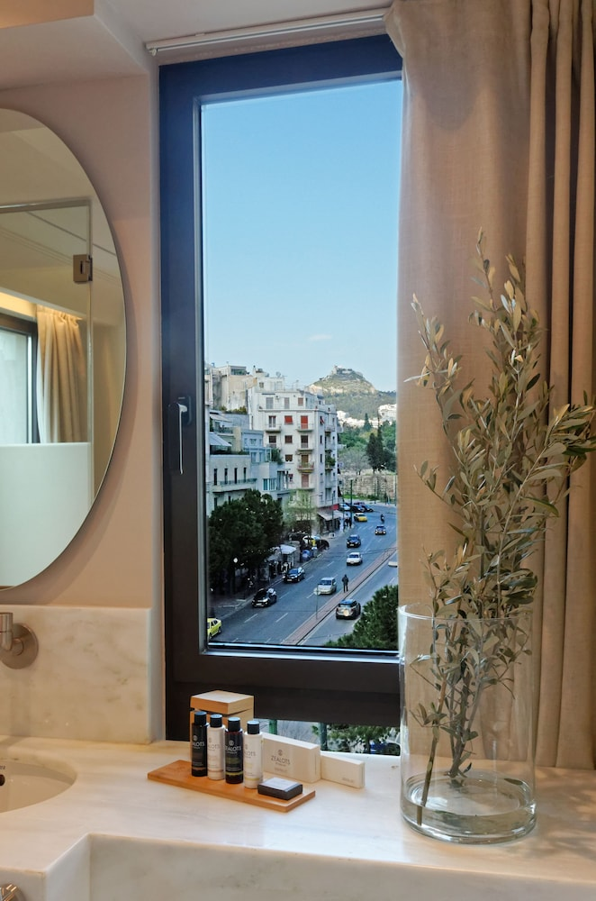 View from Room, Niche Hotel Athens