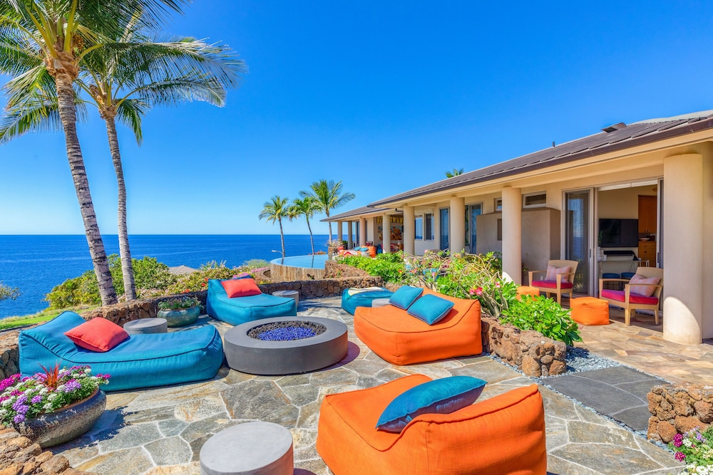 Ocean Front Luxury Living W Mauna Kea Resort Option