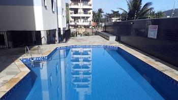 Praia do Tombo - Apto 2 Qdras Beach, Guaruja - Room Prices