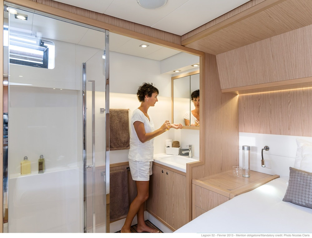 Lagoon 52 ft Luxury Sailing Catamaran: 2019 Room Prices