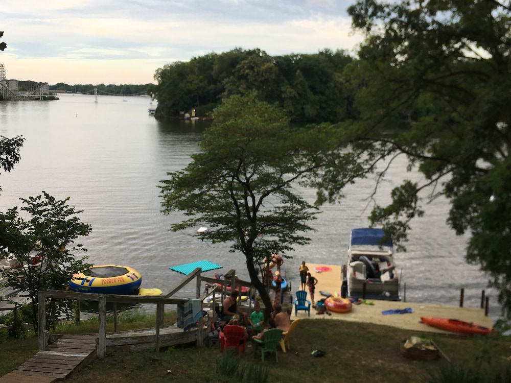 "Beach, ""Indiana Beach Rentals"" on Shafer Lake, <br>Monticello, Indiana. Boat rental avail<br>"