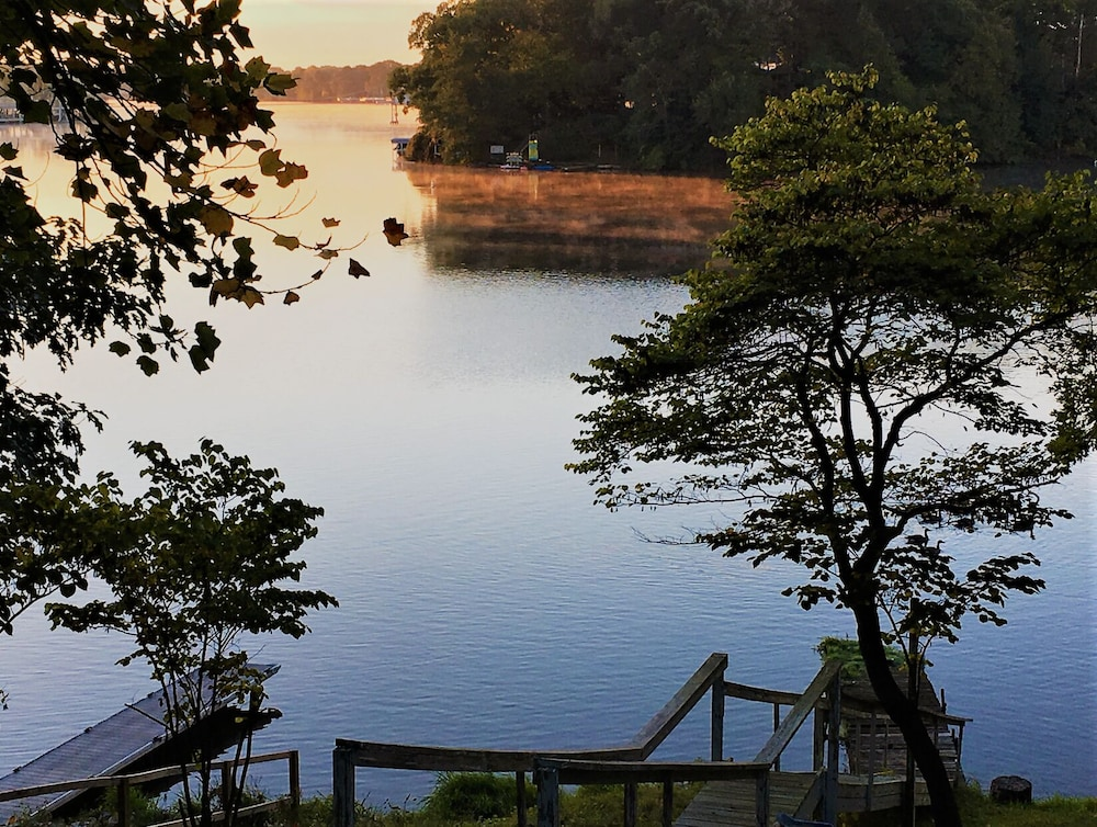 "Lake, ""Indiana Beach Rentals"" on Shafer Lake, <br>Monticello, Indiana. Boat rental avail<br>"