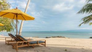 In Strandnähe, Massagen am Strand