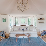 Luxury Glamping Safari Tent on San Marcos River! 100+ Acres!