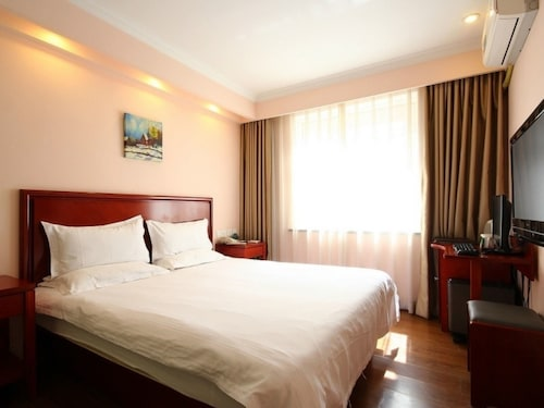 GreenTree Inn Beijing Haidian District Xueyuan Road Wudaokou Subway Station Business Hotel