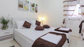 1 Schlafzimmer, individuell dekoriert, individuell eingerichtet