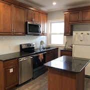 Brand New 4 BR, Free Parking, Near Public Transit, Close to Boston and Cambridge