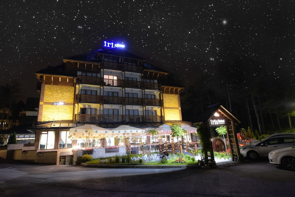 Front of Property - Evening/Night, Hotel Iris