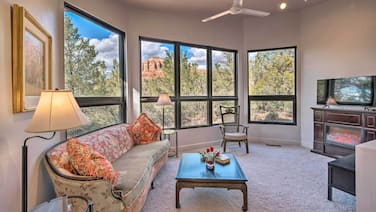 Sedona Apartment w/ Private Patio & Red Rock Views