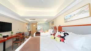 1 bedroom, premium bedding, pillowtop beds, free minibar