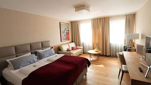 Allergikerbettwaren, schallisolierte Zimmer, kostenloses WLAN