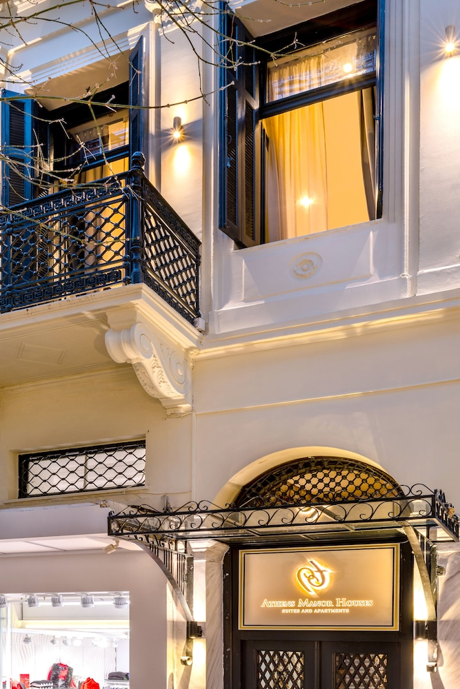 Front of Property - Evening/Night, Athens Manor Houses Suites Apartments