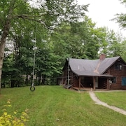 Tenney Mountain Year Round Brook Side Cabin Getaway