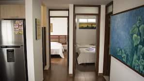 2 dormitorios, wifi, ropa de cama