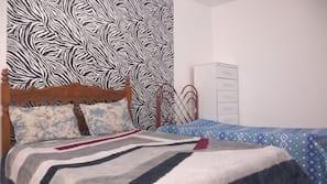 1 sovrum, internet och sängkläder