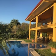 Luxury Villa With Panoramic Ocean and Jungle Views 10 Minutes From the Beach