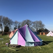 Fully-equipped Bell Tent 1-Campsite