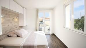 2 chambres, lits bébé (gratuits), Wi-Fi gratuit, draps fournis