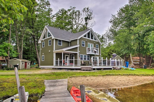Waterfront Ashland Home by Little Squam Lake!