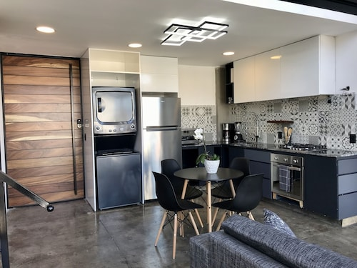 Lofts On Basilio : Romantic Zone One Bedroom Loft in a Brand NEW Building / 301