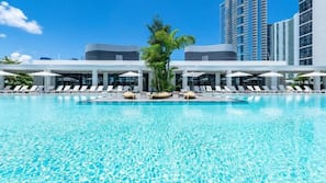 Outdoor pool, open 9:00 AM to 8:30 PM, free pool cabanas, pool umbrellas